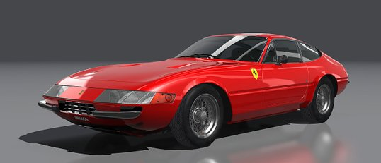 Ferrari 365 GTB (wire wheels)