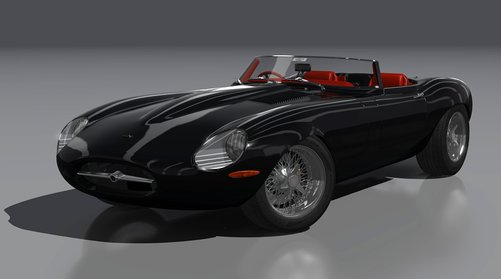 Eagle Speedster car mod for Assetto Corsa