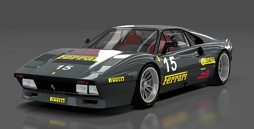 Ferrari Race car mods for Assetto Corsa