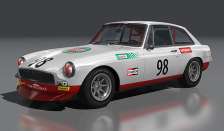 MG-BGT 1966 car mod for Assetto Corsa