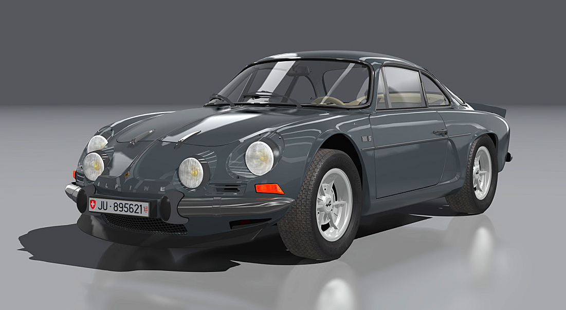 Alpine Renault A110 1600S (cw wing)